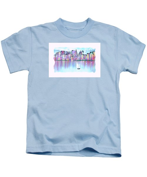 New York City Scape Kids T-Shirt