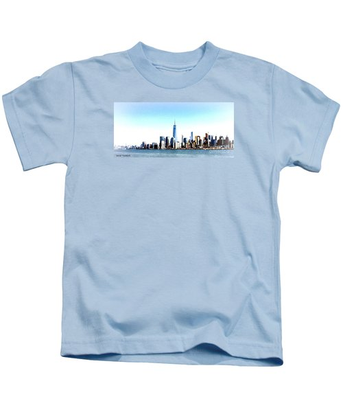New York City Skyline Kids T-Shirt
