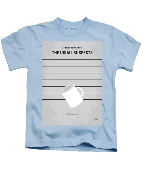 No095 My The Usual Suspects Minimal Movie Poster Kids T-Shirt