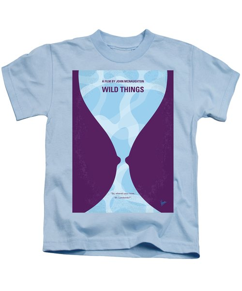 No630 My Wild Things Minimal Movie Poster Kids T-Shirt
