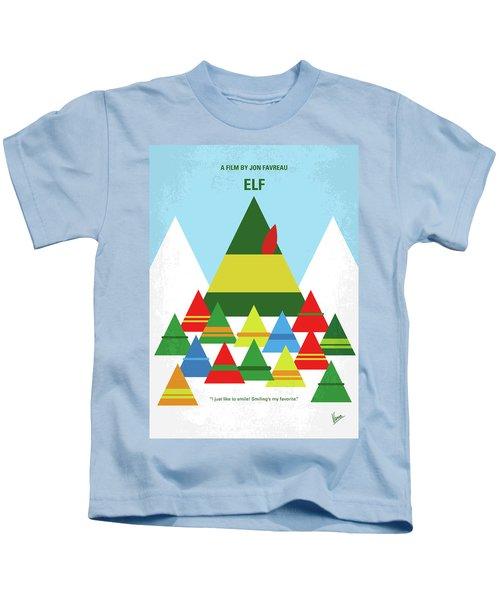No699 My Elf Minimal Movie Poster Kids T-Shirt