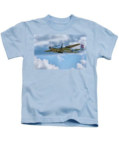 North American B-25 Mitchell Kids T-Shirt