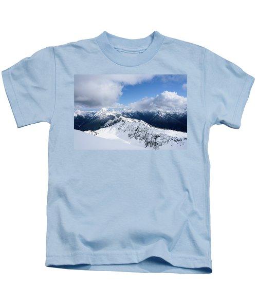 North Cascade Mountains Kids T-Shirt
