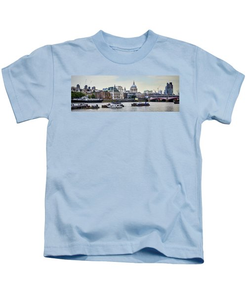 North Side Of The Thames Kids T-Shirt