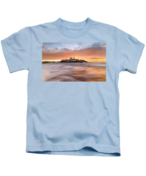 Nubble Lighthouse Kids T-Shirt
