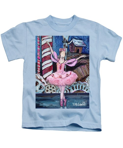 Nutcracker Sugar Plum Fairy Kids T-Shirt