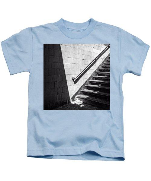 Ny Subway Stairs Kids T-Shirt