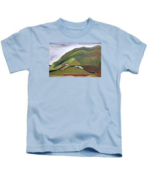 O Mountains That You Skip Kids T-Shirt