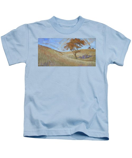 Oak Savanna, Autumn Kids T-Shirt