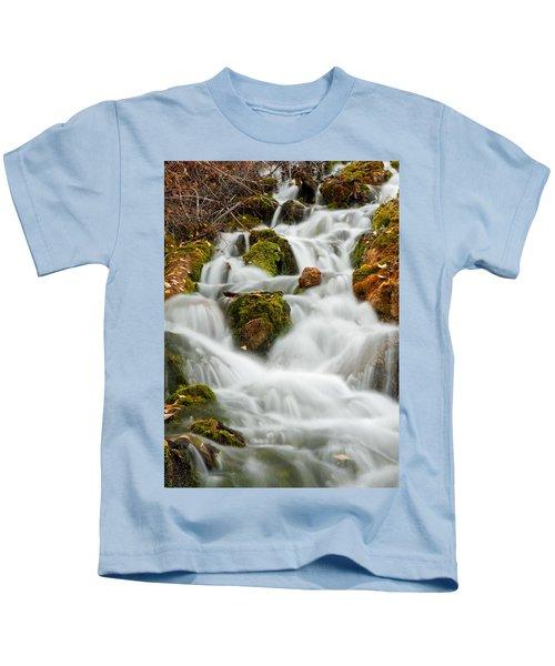 October Waterfall Kids T-Shirt