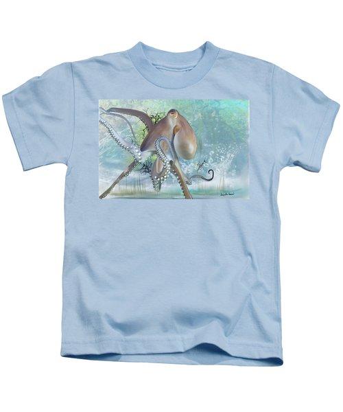 Octupus - 2 Kids T-Shirt