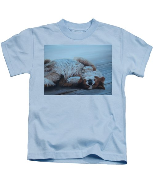 Dog Gone Tired Kids T-Shirt