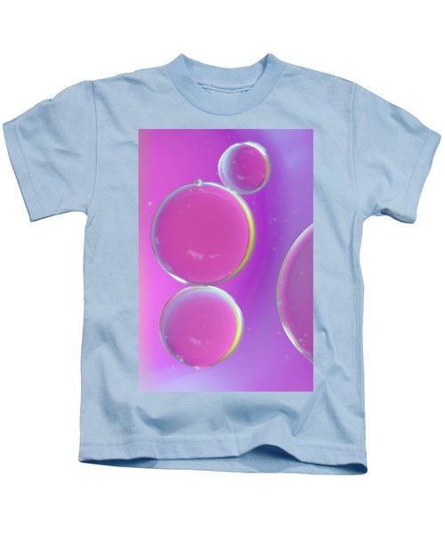 Oil On Water Abstract Kids T-Shirt