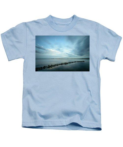 Old Blue Morning Kids T-Shirt