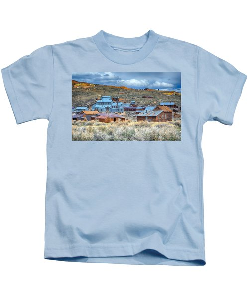 Old Bodie Gold Mining Town Kids T-Shirt