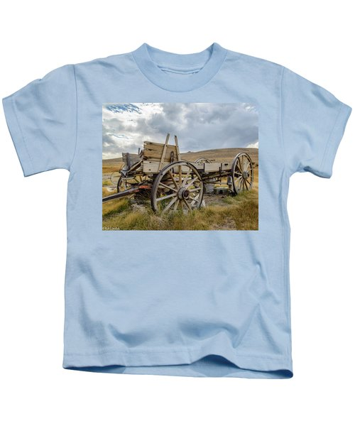 Old Buckboard Wagon Kids T-Shirt
