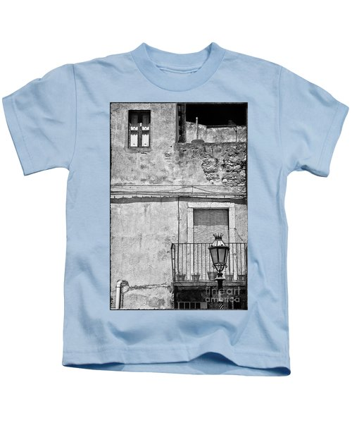 Old House In Taormina Sicily Kids T-Shirt