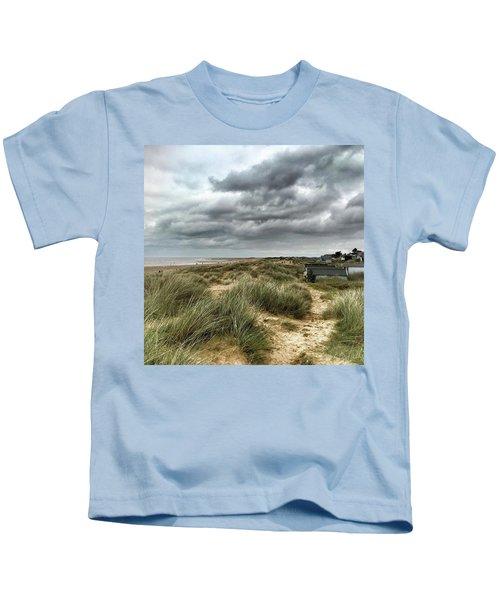 Old Hunstanton Beach, North #norfolk Kids T-Shirt