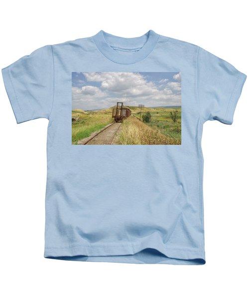 Jezre'el Valley Old Railway Station Kids T-Shirt