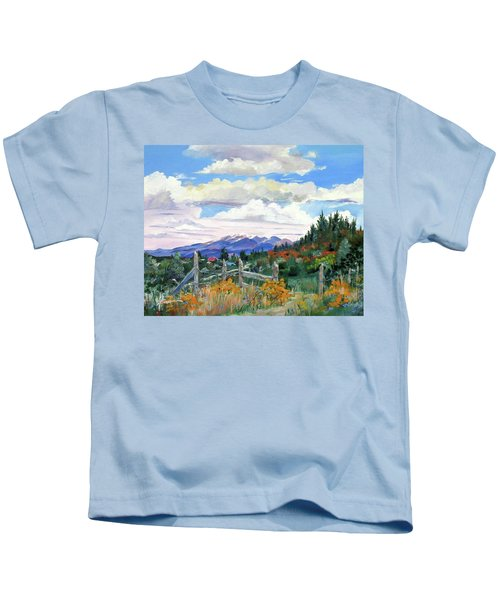 Old North Fence-in Colorado Kids T-Shirt