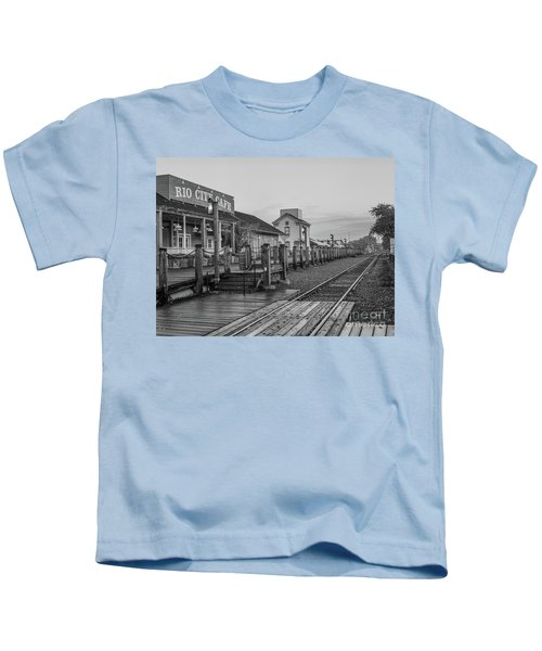 Old Train Station Kids T-Shirt