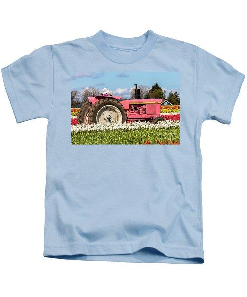 On The Field Of Beauty Kids T-Shirt