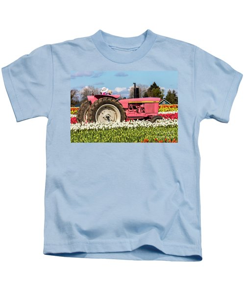 On The Field Of Beauty Kids T-Shirt