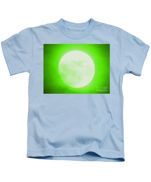 Once In A Lime Green Moon Kids T-Shirt