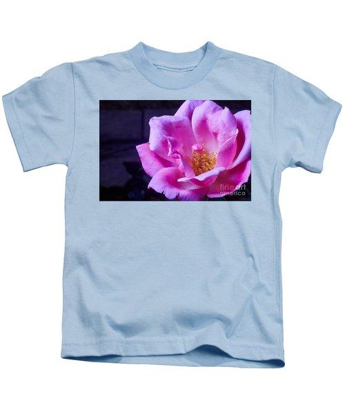Open Rose Kids T-Shirt