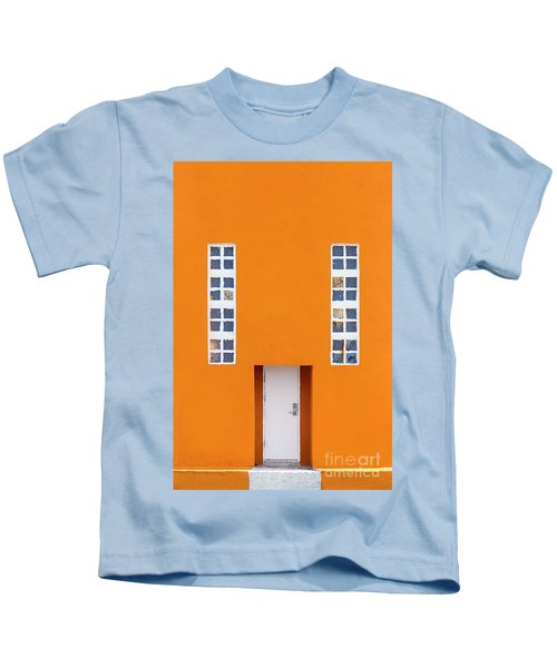 Orange Happy Kids T-Shirt