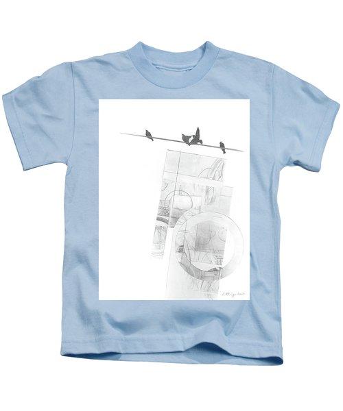 Orbit No. 3 Kids T-Shirt
