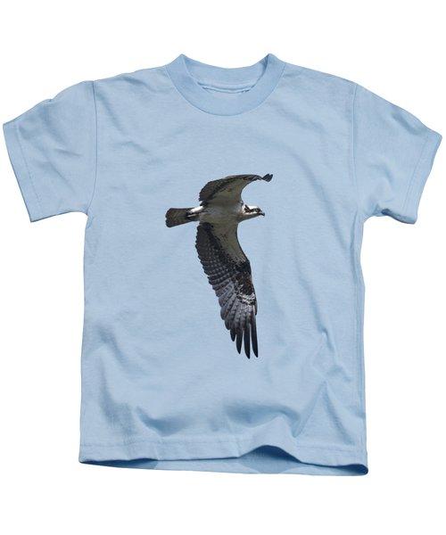 Osprey In Flight 2 Kids T-Shirt