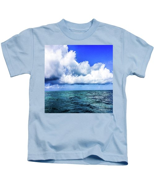 Out On The Open Sea Kids T-Shirt