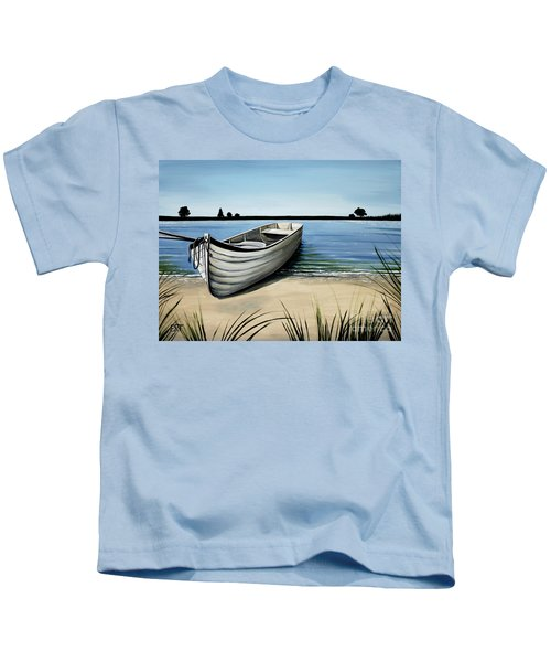 Out On The Water Kids T-Shirt