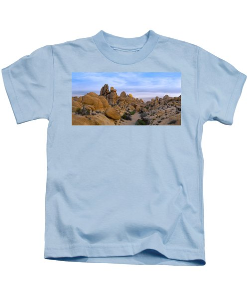Outer Limits Pano View Kids T-Shirt