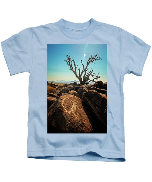 Pack Mule Petroglyph Kids T-Shirt