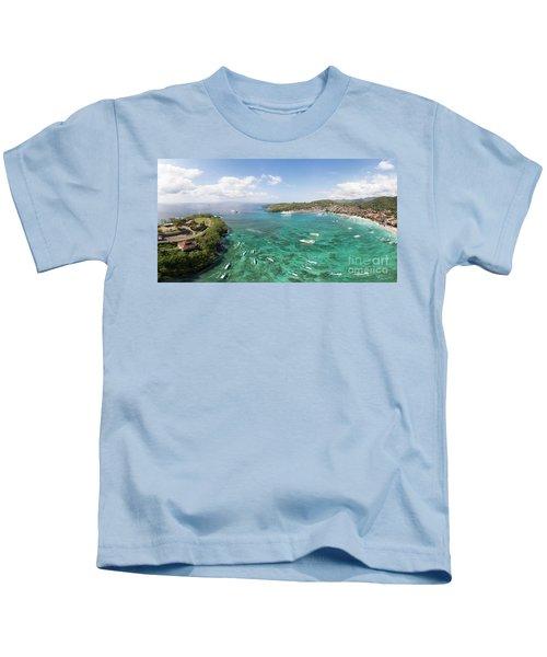 Padang Bai Panorama In Bali Kids T-Shirt
