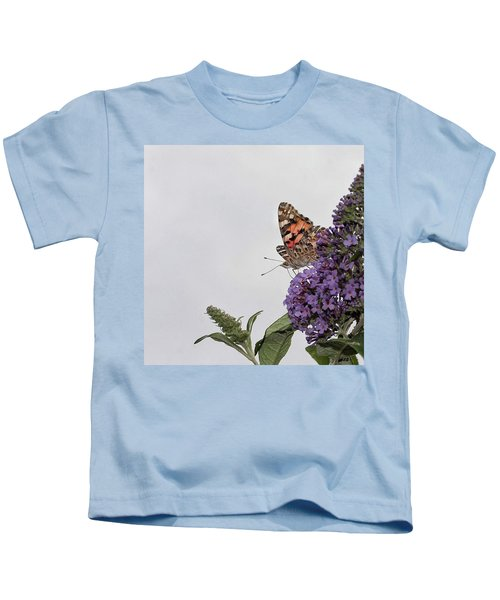 Painted Lady (vanessa Cardui) Kids T-Shirt