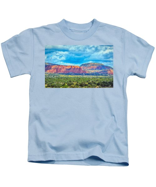 Painted New Mexico Kids T-Shirt