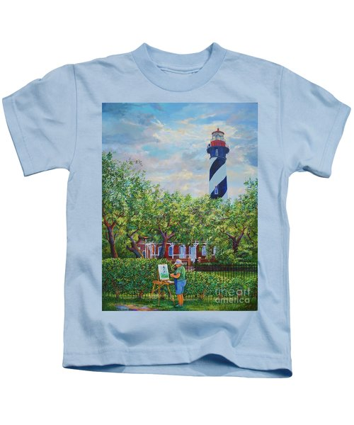 Painting The Light Kids T-Shirt