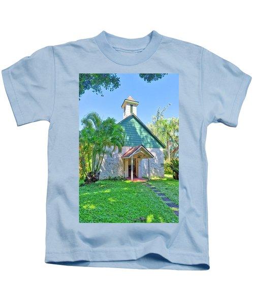 Palapala Ho'omau Congregational Church Kids T-Shirt