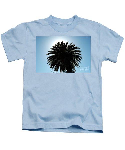 Palm Tree Silhouette Kids T-Shirt