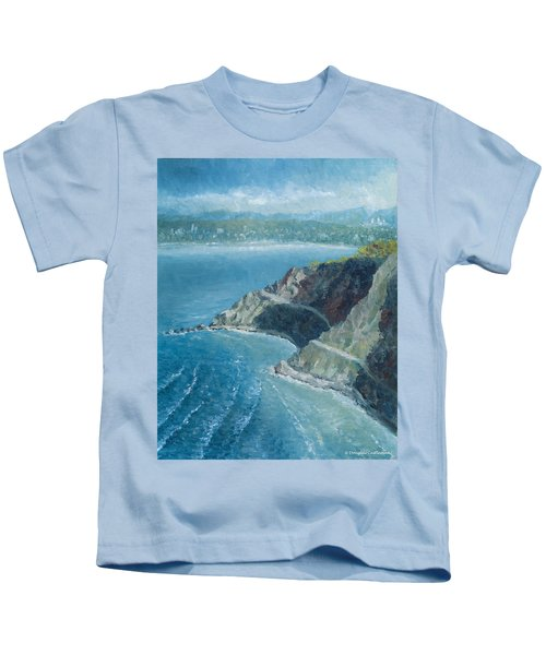Palos Verdes Autumn Morning, No. 1 Kids T-Shirt