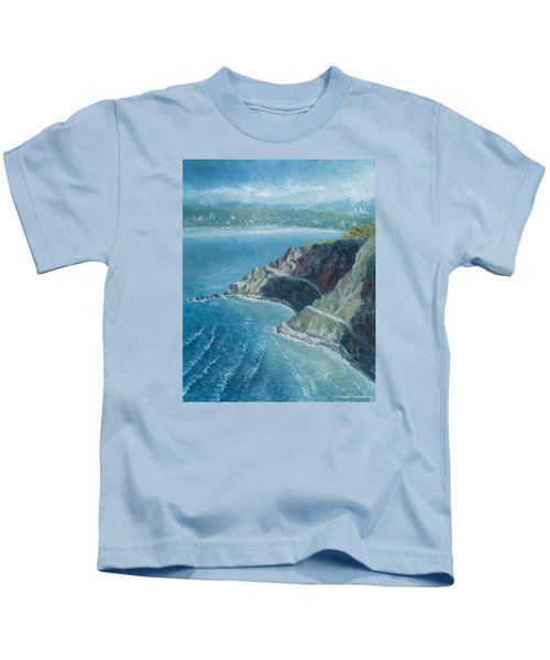 Palos Verdes Autumn Morning, No. 1 Kids T-Shirt
