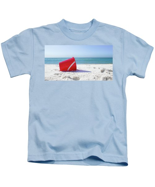 Panama Beach Florida Sandy Beach Kids T-Shirt