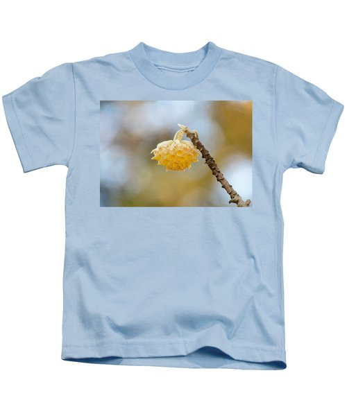 Paperbush Flower Kids T-Shirt
