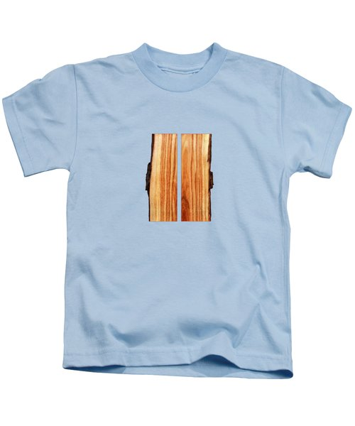 Parallel Wood Kids T-Shirt by YoPedro
