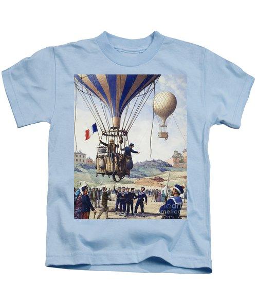 Paris Is Besieged Kids T-Shirt