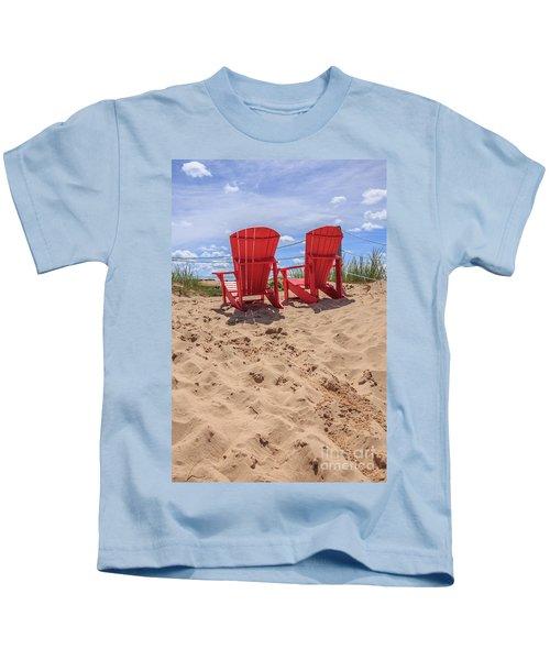 Peace Among The Dunes Kids T-Shirt
