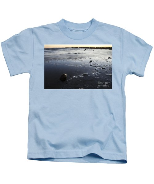 Peaceful Shoreline Shallows Kids T-Shirt